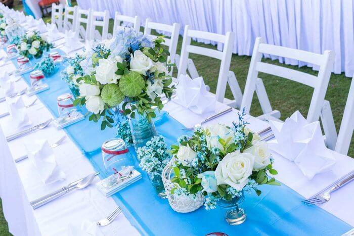 Hochzeit blau  bezaubernd schn  Die besten Tipps Ideen