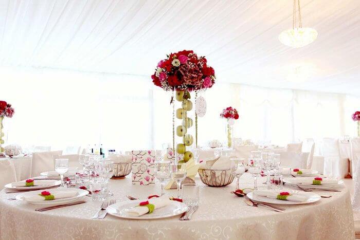 Tischdeko Hochzeit  Die besten Tipps  Ideen fr