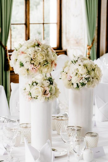 Tischdekoration Hochzeit Beispiele  Viele schne