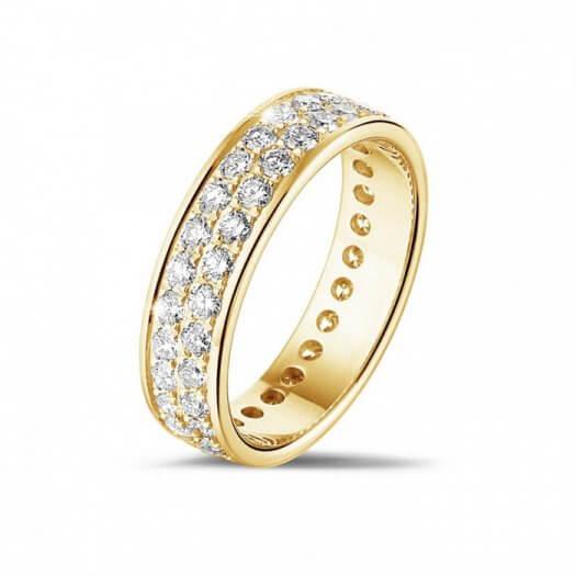 Eheringe in Gold mit Diamanten  Tolle Beispiele in der