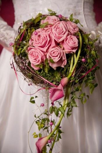 Hochzeitsstrau Calla Rosen  Bildergalerie Hochzeitsportal24