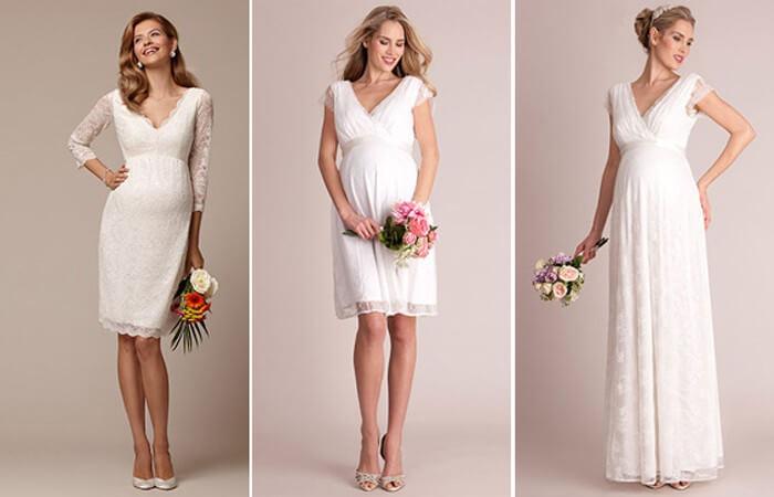 Brautkleider Für Schwangere Richtig Aussuchen