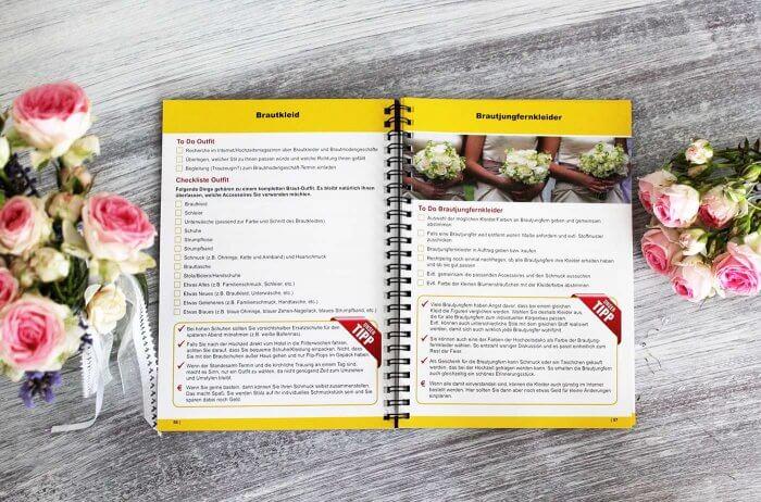 Das Hochzeitsbuch  100 Hochzeit Checklisten fr die Planung