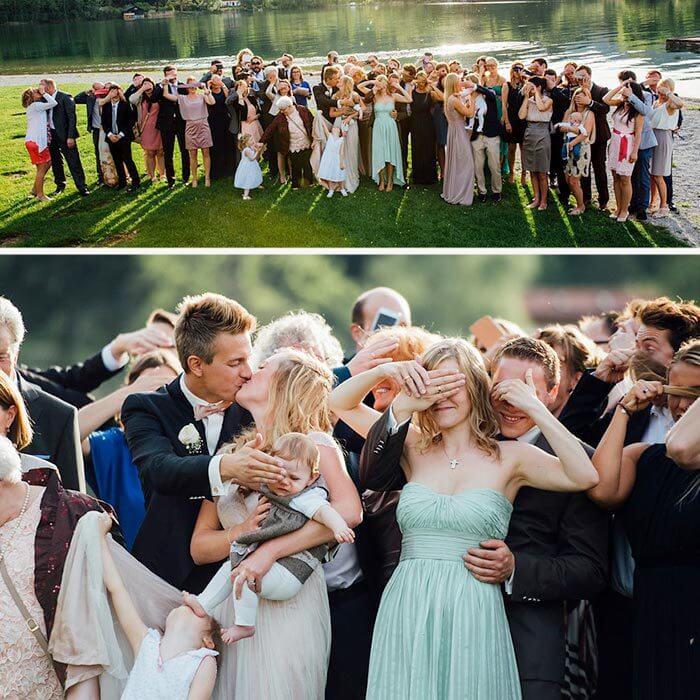 Lustige Hochzeitsbilder  Witzige Inspirationen Tipps