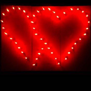 Lichtbilder Hochzeit Herzen Ringe  Initialen  Alles