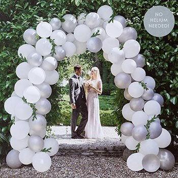 Luftballons zur Hochzeit  So setzt ihr die himmlisch