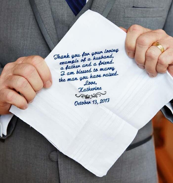 FreudentrnenTaschentcher zur Hochzeit  Infos Tipps