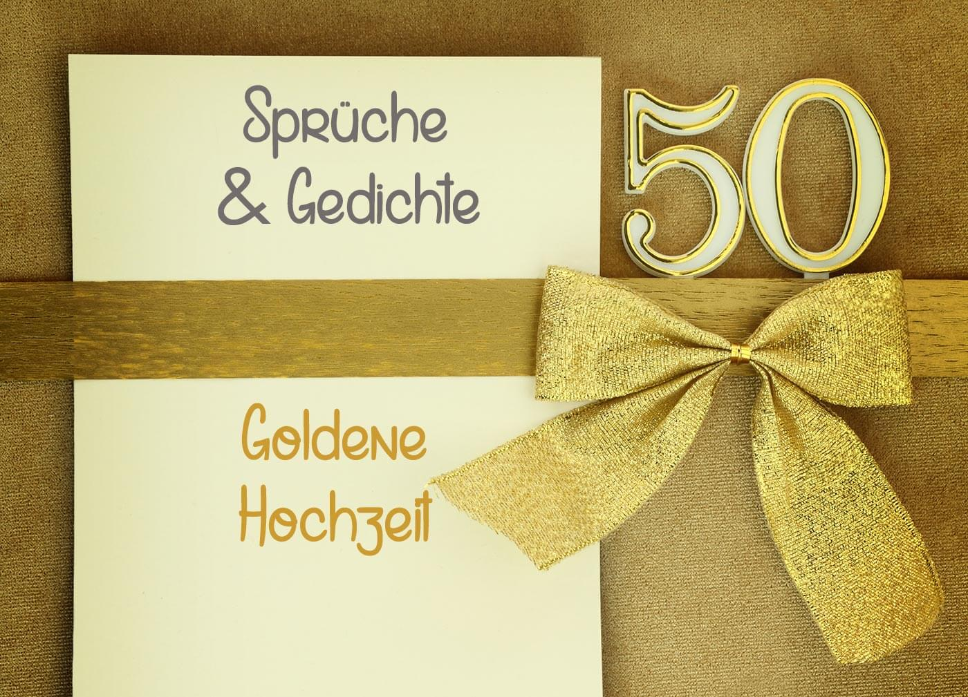 Goldene Hochzeit  Sprche  Gedichte  Hochzeitsportal24