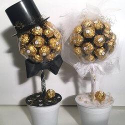 Schokolade Geschenk zur Hochzeit finden  Leckere