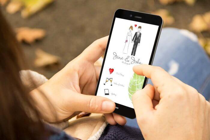 Hochzeitshomepage erstellen Tipps  Anbietervergleich