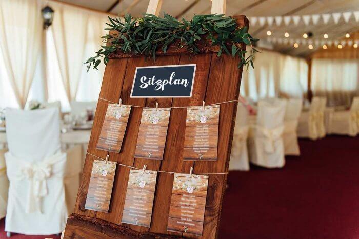 Ideen Tischordnung Hochzeit
