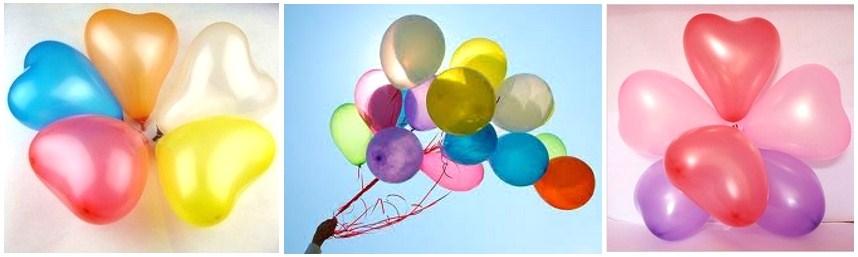 Heliumballons  Paderborn Luftballons Herzen
