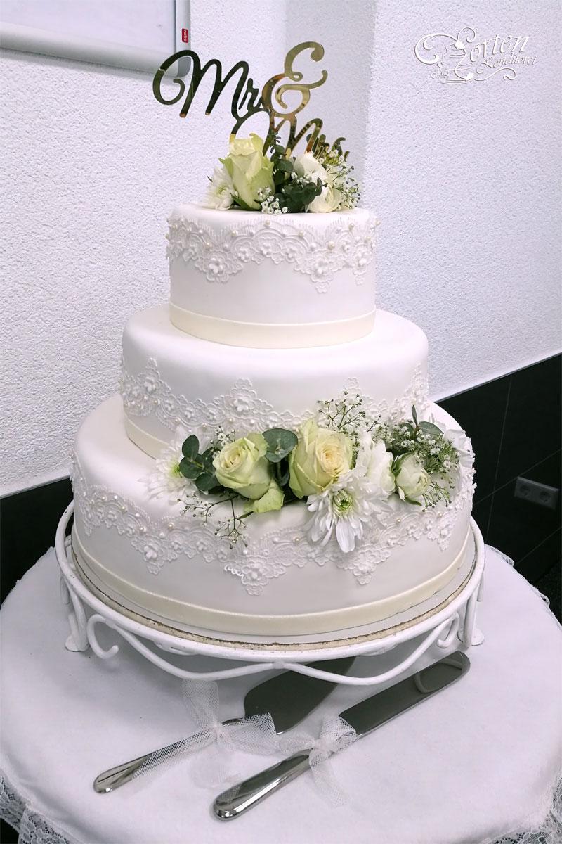 Hochzeitstorten  Klassisch  HochzeitstortenSchlidtde  Hochzeitstorten Schlidt