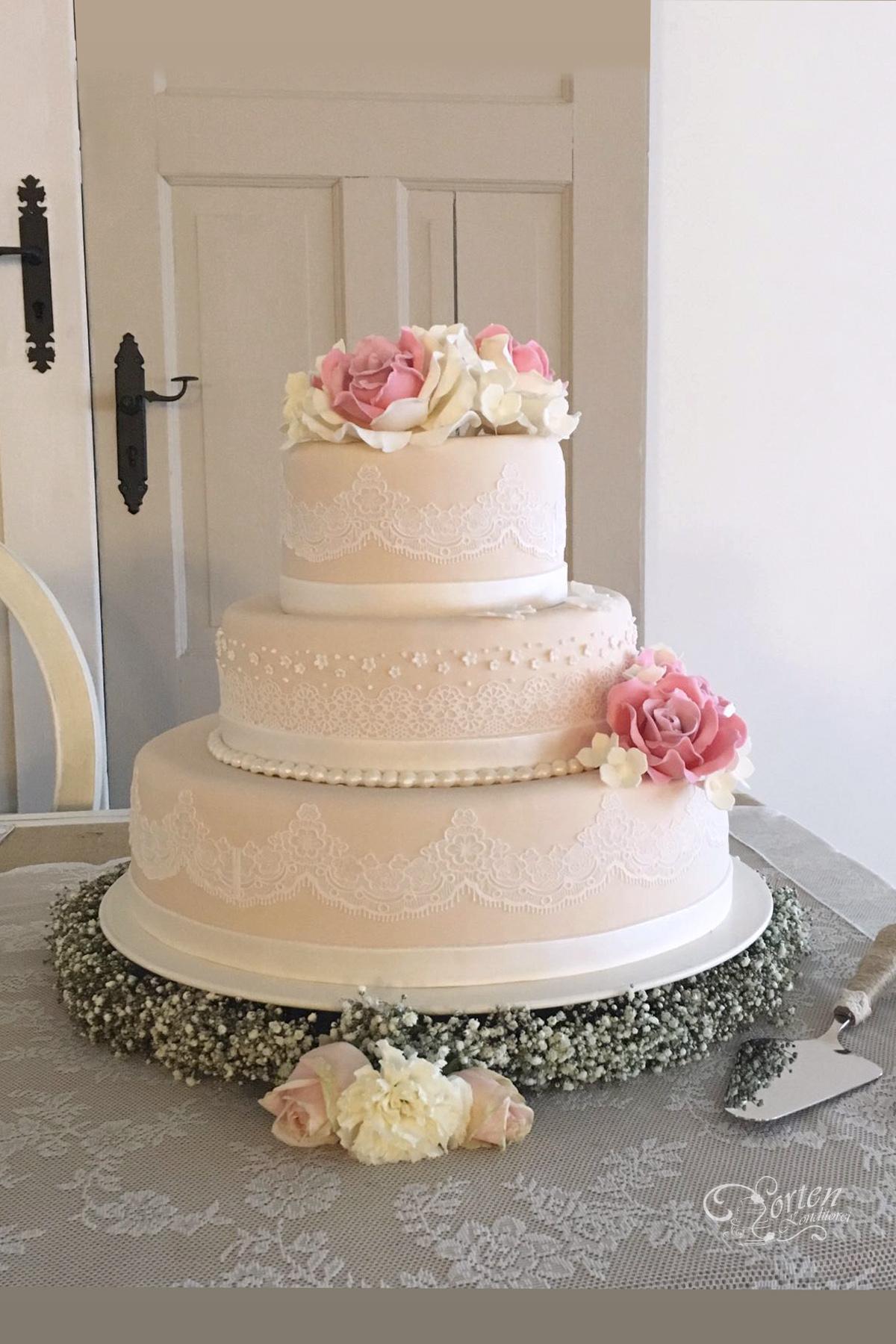Hochzeitstorten  Klassisch  HochzeitstortenSchlidtde