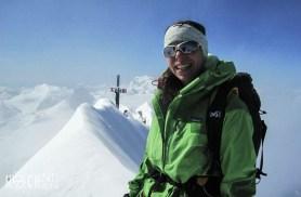Top of the Dom. Mein erster Gipfel über der 4000er-Marke und dann gleich so einen Hatscher ausgesucht. Dort oben konnte ich nur Strahlen.