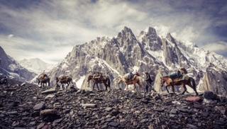 Karawanen im Karakorum