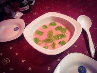 Glibber-Dessert
