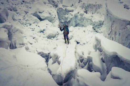 Softeis. Steileis.