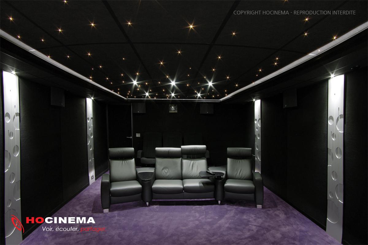 HOCINEMA la salle de cinma maison Yvelines de 27 m2 en dtail