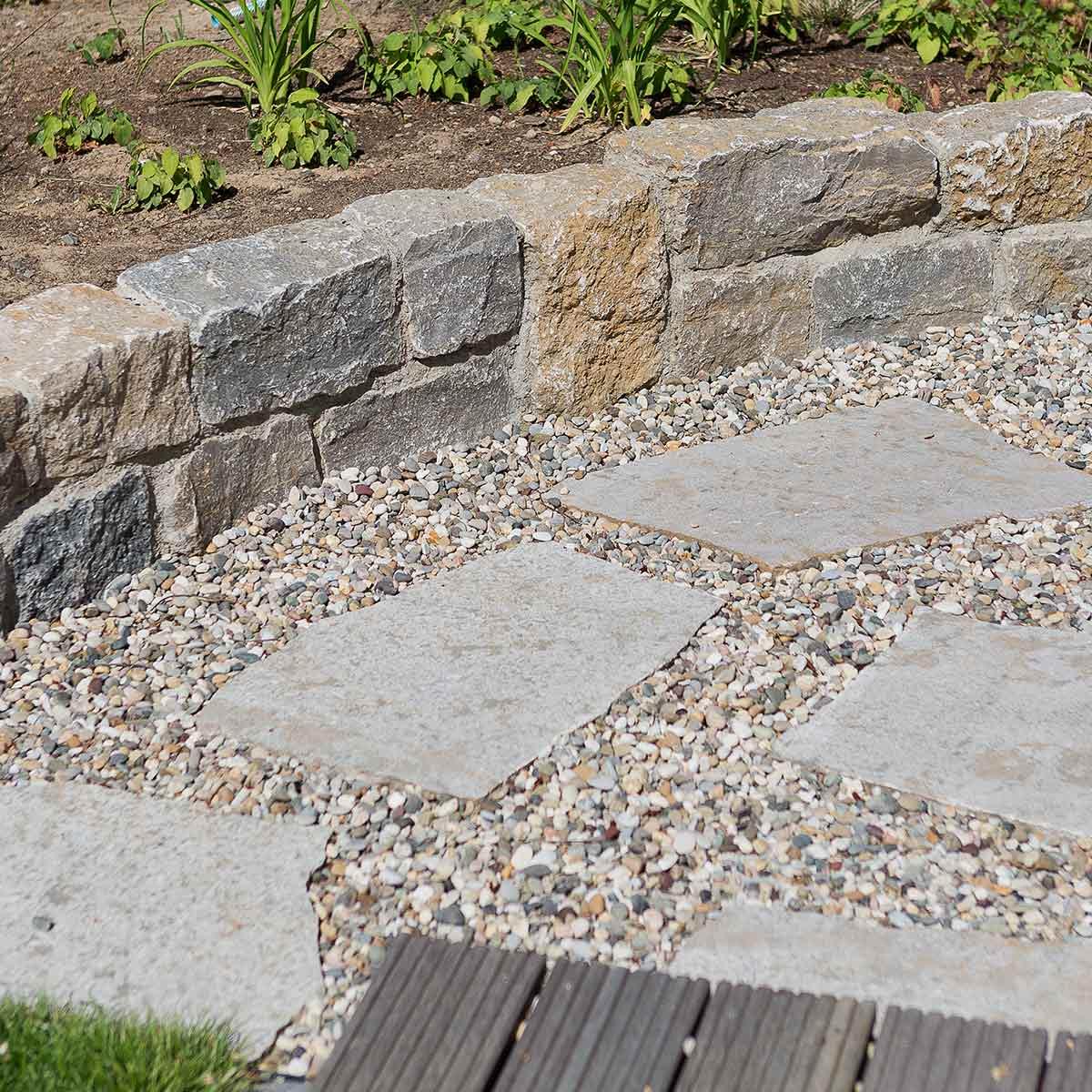 Gartengestaltung mit Steinen im Raum Koblenz Wiesbaden