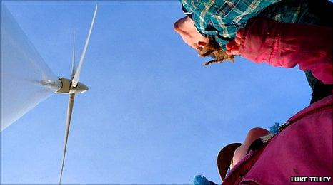 Hockerton's community-owned wind turbine