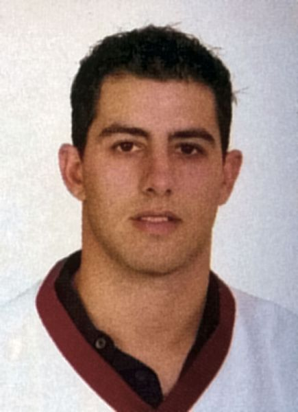 Mike Stathopoulos hockey player photo