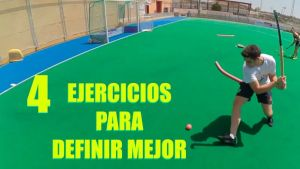 ejercicios de definición en hockey