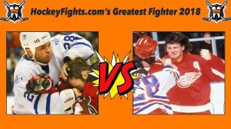 HockeyFights.com Fantasy Fighting Championship Bracket: The Final