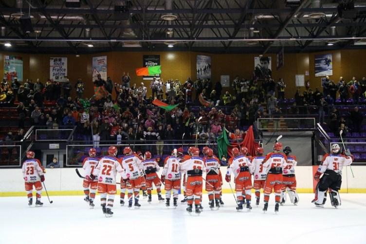 Photo hockey Division 1 - Division 1 : 25ème journée : Chambéry vs Mont-Blanc - D1: Yétis, triple coup de force!
