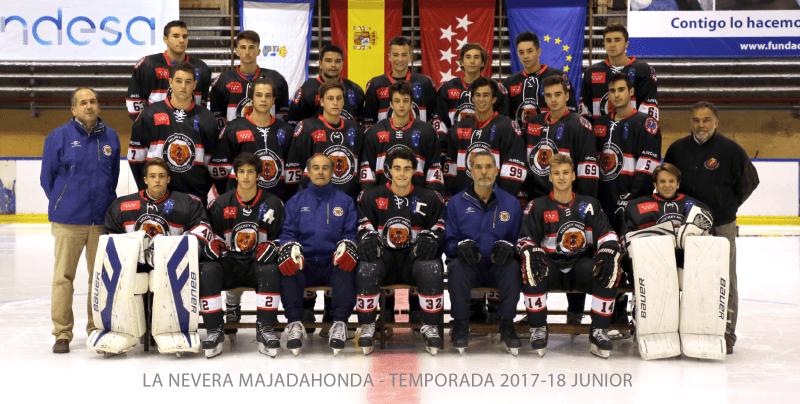 Hockey Hielo Majadahonda - Foto Oficial Junior 2017
