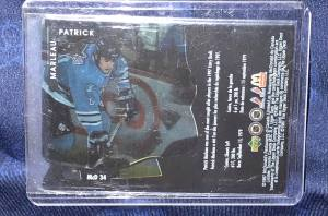 1997 UD McDonalds Ice Breakers San Jose Sharks Patrick Marleau RC #McD-34. Obtained from McDonalds only in Canada.