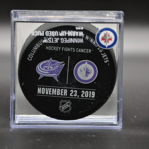 2019 Winnipeg Jets Warm Up Puck