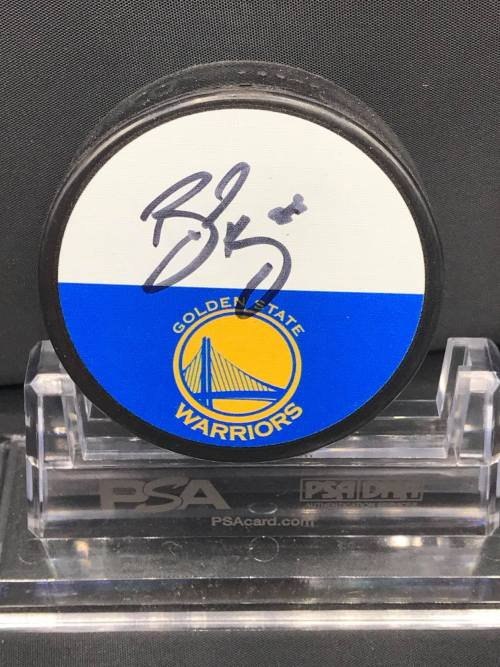 2017-18 San Jose Sharks Foundation Limited Edition Mystery Pucks Collection. Bay Area Unite Golden State Warriors #88 Brent Burns.