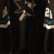 2002-2003 San Jose Sharks #28 Matt Bradley. Rare 1st year style of black alternate style. Looking to trade only for older San Jose Sharks jerseys. Size 54. Koho Black Obtained from team. Very Rare Style. Not seen in game worn jersey hobby. Obtained from team.