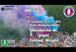 UHC Live – UHC vs. ZW – 30.09.2018 12:00 h