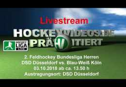 Hockeyvideos.de – DSD vs. BWK – 03.10.2018 14:00 h