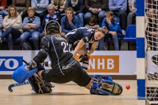 02-02-2019: Hockey Dames: NK Zaalhockey hdm D1 - Kampong D1: Rotterdam