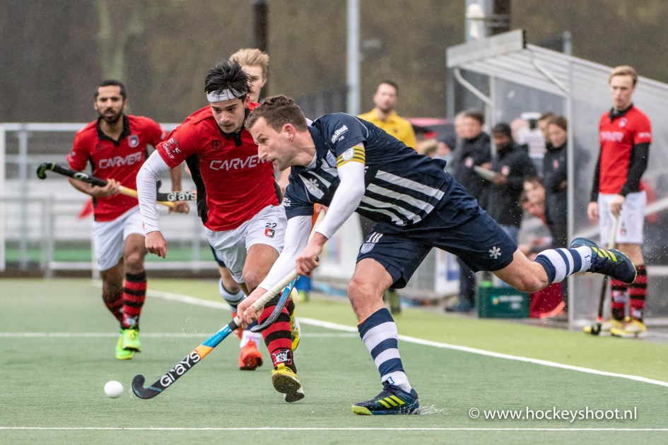 10-03-2019: Hockey: Mannen HDM v Schaerweijde: Den Haag