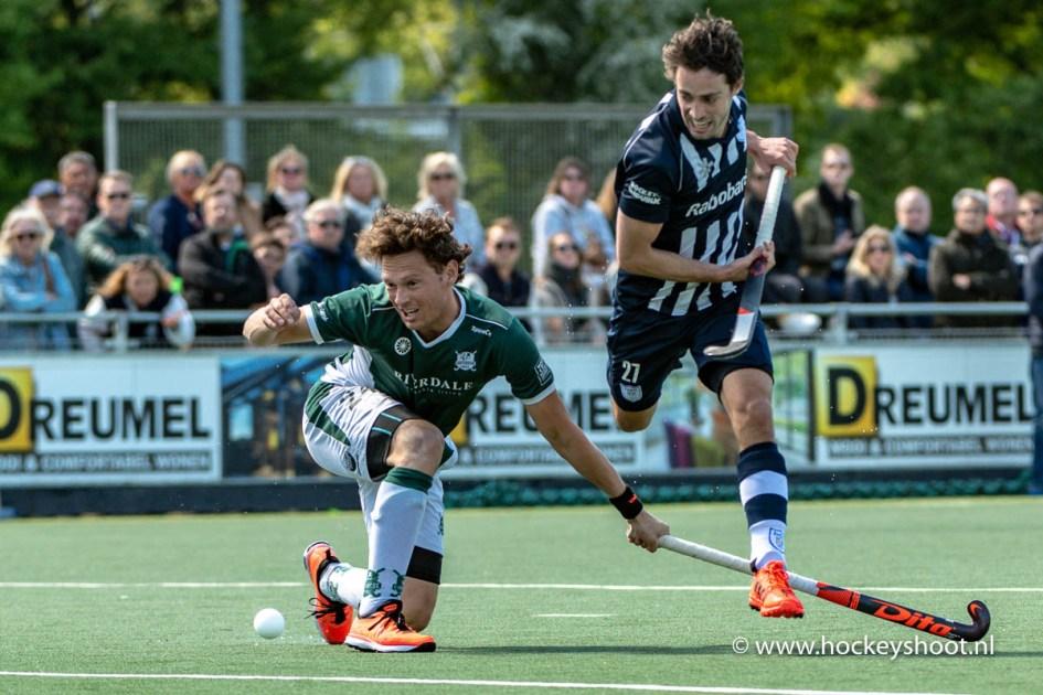 12-05-2019: Hockey: Mannen Cartouche v HDM: Voorburg