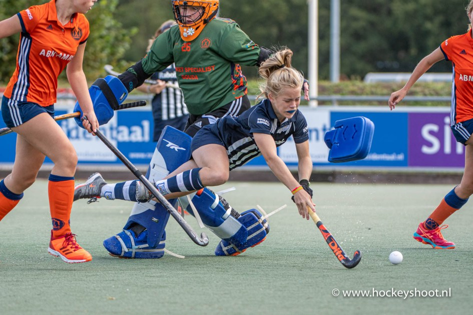 07-09-2019: Hockey: hdm MC1 - Ommoord MC1: Den Haag