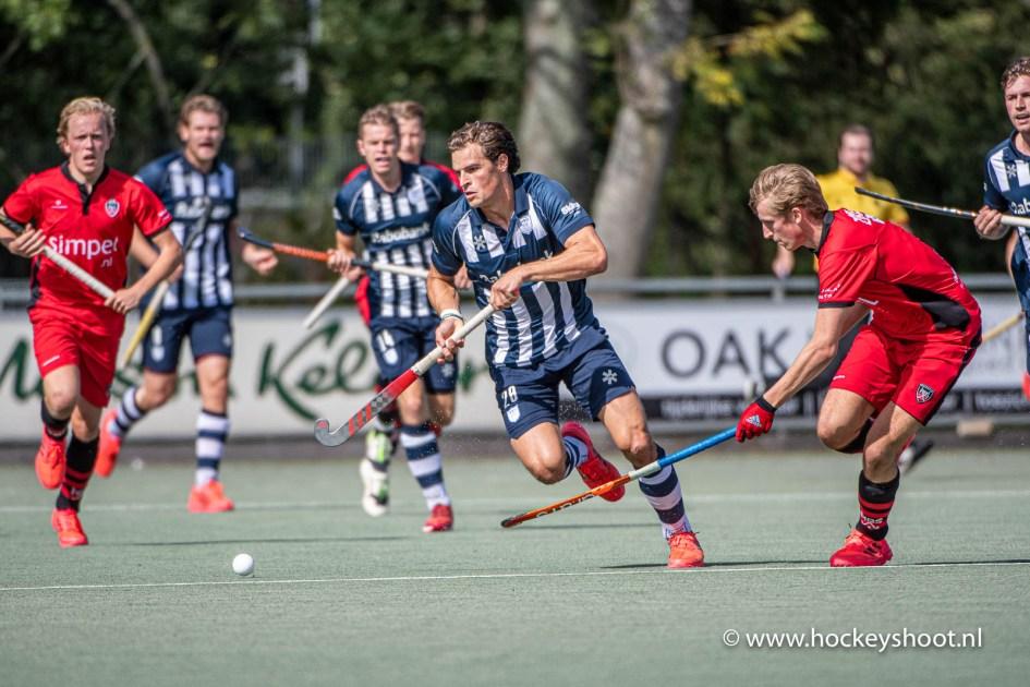 Hockey - Heren HDM v HBS, Den Haag - 06-09-2020