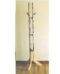 Custom Hockey Stick Furniture - Hockey Stick Coat Rack