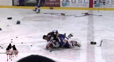Warm Up Brawl Laval vs St George LNAH