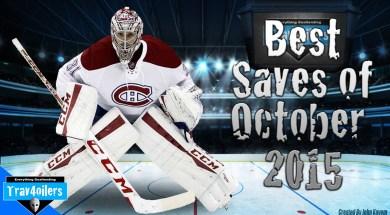 Best NHL Saves (October 2015)