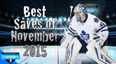 Trav4Oilers – NHL Saves Of The Month