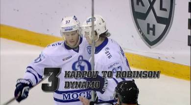KHL Top Ten Goals (Week 7)