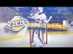 2016-17 BCHL Top Goalie – #30 Darion Hanson