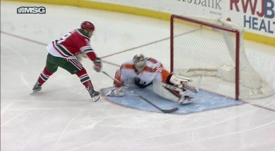 Taylor Hall Breaks Steve Mason