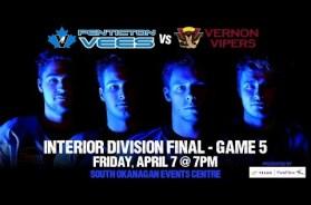 Penticton Vees Take 3-2 Series Lead
