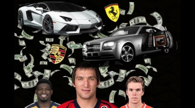 10 Amazing Cars Owned By NHL'ers